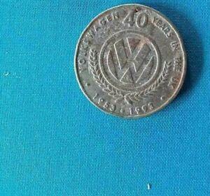 Volkswagen coin 40 years in the UK 1953-1993