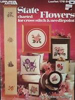 State Flowers 43 Counted Cross Stitch Patterns By Leisure Arts