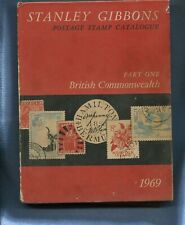 1969 Stanley Gibbons Postage Stamp Catalogue British Commonwealth 663 Pages