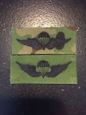 JGSDF PARACHUTIST JUMP WING SUBDUED CAMOUFLAGE PATCH JAPAN SELF DEFENSE FORCE