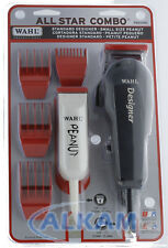 Wahl Professional All Star Clipper/Trimmer Combo #785340, Includes Accessories