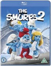 The Smurfs 2 BLU RAY FILM MOVIE CLASSIC KIDS CHILDREN EASTER HOILDAYS BNS NR 3d