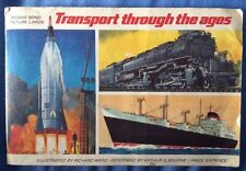 Brooke Bond 'Transport Through The Ages' picture Tea card book complete. PG Tips