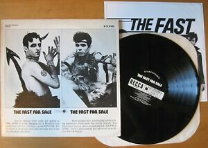 The Fast The Fast For Sale  LP 1980 Very Good Vinyl