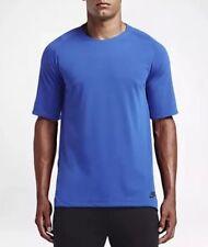 Nike $85 MED Men's NSW Sportswear NikeLab Bonded Blue/Black Shirt (805122-480)