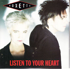 "ROXETTE Listen To Your Heart PICTURE SLEEVE 7"" 45 record + juke box title strip"