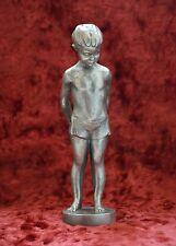 USSR Russian Soviet Boy with a ball vintage sculpture statue H=20 cm. 1962