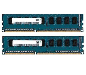 2x 8GB 16GB RAM DDR3 1333 Mhz PC3-10600 PC Speicher 240 pin DIMM PC3-10600U
