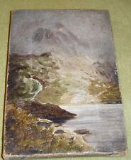 Ölbild,klein,Landschaft,wohl England um 1900,Öl auf Leinwand