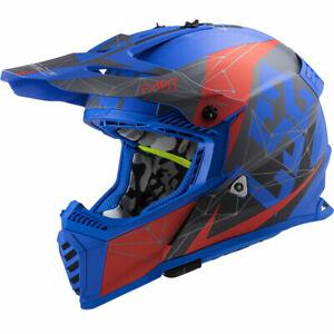 LS2 MX437 Fast Evo Alpha Motocross Helmet Off-Road Dirtbike Racing MX Helm Lid