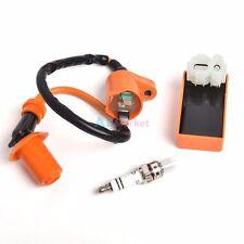 Ignition Coil Cdi Box Spark Plug for Qmi157 50cc-150cc Scooter Atv Go Kart Moped