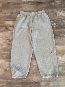 Nike Air Jordan Sweatpants XXL Great Condition Men's XXL 2XL Gray Draw String