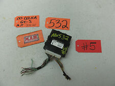 00 01 02 CELICA GTS GT ABS ANTI LOCK BRAKE COMPUTER ECM ECU SKID 89540-20460 OEM