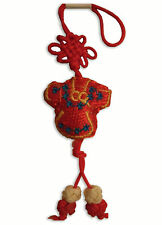 Handphone strap hand knitted Chinese Lady Dress gift