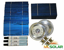 2KW+ WHOLE 3x6 Solar Cells w/ TAB Wire, BUS, FLUX GREAT