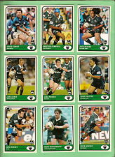 TEN SETS OF 2005  PENRITH PANTHERS  SELECT RUGBY LEAGUE TRADITION CARDS