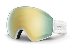 NEW Von Zipper Jetpack Goggles-WGO White Satin-Gold+Bonus-SAME DAY SHIPPING!