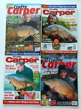 4 x Crafty Carper Magazines - Aug & Nov 2004 - Feb 2008 - Mar 2009