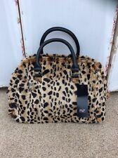 Lovely Florence & Fred Oversized Leopard Print Faux Fur Bag/Handbag - BNWT
