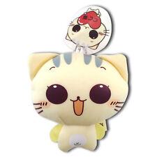 Little Kitty Cat Soft Plush Microbead Foam Nylon Stuffed Animal Keychain New