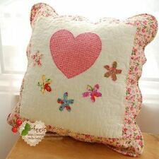 65%OFF Pink Stitched Quilted Cushion Cover Cath Kidston Fabric A07