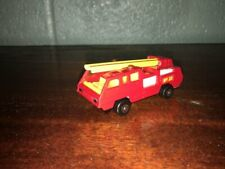 1:87 SCALE 1975 MATCHBOX SUPERFAST FIRE LADDER TRUCK MADE IN ENGLAND