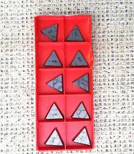 10- Sandvik carbide inserts Tfan 22 00 Pf R, Tfa 42P3R, Grade H10 *New*