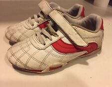 Lonsdale Trainers (Boys or Girls) Red & White - Size UK 10 (Infant). PE