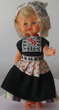 Doll in the Dutch national costume. 1980. Free shipping.