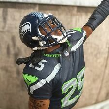SEATTLE SEAHAWKS Tap Handle Richard Sherman Blue Jersey NFL FOOTBALL Beer Keg