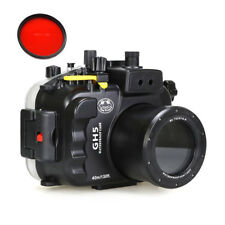SeaFrogs Underwater Waterproof Housing Diving Case for Panasonic Lumix GH5 GH5S