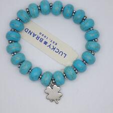 lucky brand woman jewelry stretch bangle turquoise stone adjustable bracelet