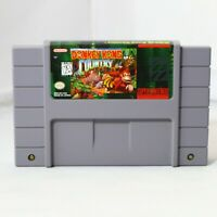 Donkey Kong Country 1 Super Nintendo SNES Original OEM Authentic Game!