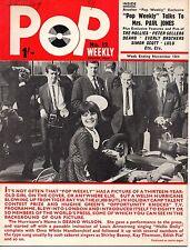 Pop Weekly Magazine 13 November 1965   Deano Wilson   The Everly Brothers   Lulu