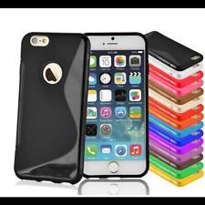 Handy Cover TPU Schutzhülle Für Apple Silikon Hülle Schale Case S-Line