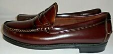 DEXTER,  MEN'S (( NEW )) CORDOVAN RED  LEATHER PENNY LOAFER, SIZE 8 E, USA