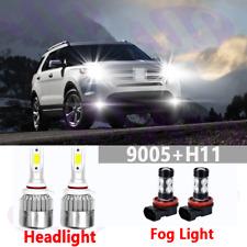 CREE LED Headlight Kit 9145 White 6K Fog Light Bulb for FORD Explorer 2002-2010