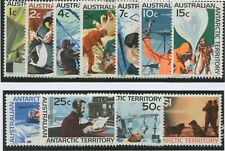 Australian Antarctic Territory: 1966-68 (SG.8-18) 1c - $1 Pictorials set 11 MLH