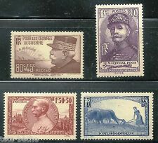 FRANCE 1940 War Charity set MNH VF $38