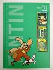 Adventures of Tintin 3-in-1 Vol 7 Castafiore Emerald Flight 714 Picaros