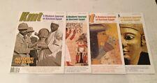 KMT Egypt NEW magazine vol 24 2013 Complete Set Ancient History Stunning Photos