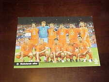 2005 Netherlands Soccer Promotional Team Photo