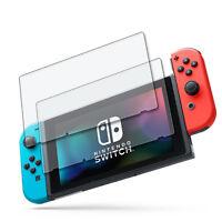 2x Hartglas Folie Nintendo Switch (2017) Display Klar Kratzfest Echtglasfolie 9H