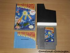 Nintendo NES Game: To the Earth [NTSC/USA] (Complete)