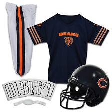 Chicago Bears Uniform Set Youth NFL Football Jersey Helmet Kids Costume Large