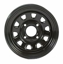 4-ITP Delta BLACK Steel Wheels 2008-09 KING QUAD 400