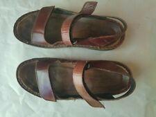 Naot Womens Karenna Brown Ankle Strap Flats SZ8 EUR 39 EUC Style 60700