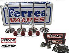 Ferrea Intake Exhaust Valves Cams Seals Kit Suzuki LTZ400 LTZ 400 DRZ KFX DVX