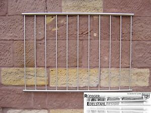 FGM-021 Edelstahl Fenstergitter Schutzgitter Sicherheitstechnik Fenstersicherung