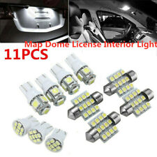 11X White LED Bulbs Interior Lights Package Kit For 2003-2006 Infiniti G35 Sedan